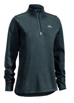 Damenfleecesweater Ultra light 1/2 Zip grau 44