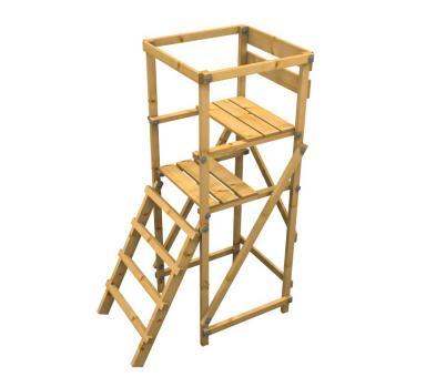 Drückjagdbock klappbar DBKS 240 Leiter schräg, unser  Waidgesell Fichte zerlegt als Bausatz Fichte | zerlegt als Bausatz