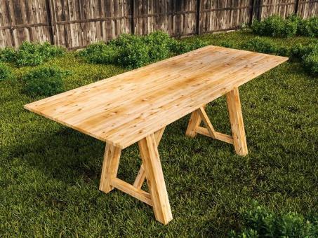 Esstisch Gartentisch in Verschiedenen Größen 180cm 80cm 85cm 85cm | 80cm | 180cm