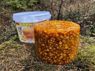Mineralleckstein gerösteter Mais Salzleckstein Salzlecke