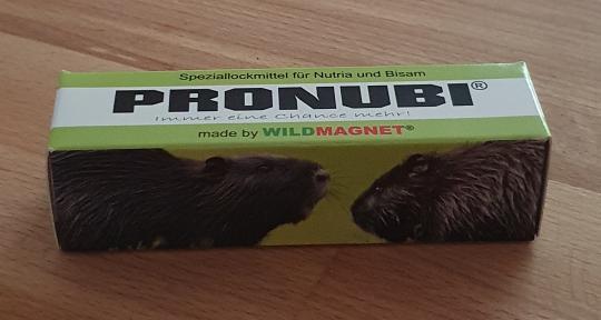 PRONUBI® Speziallockmittel 30 ml Pumpsprühflasche für Nutria und Bisam