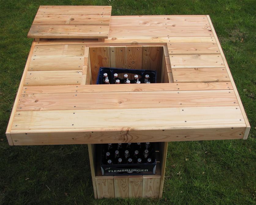 Stehtisch Für 8 12 Personen Und 2 Getränkekisten Partytisch Gartentisch Biertisch