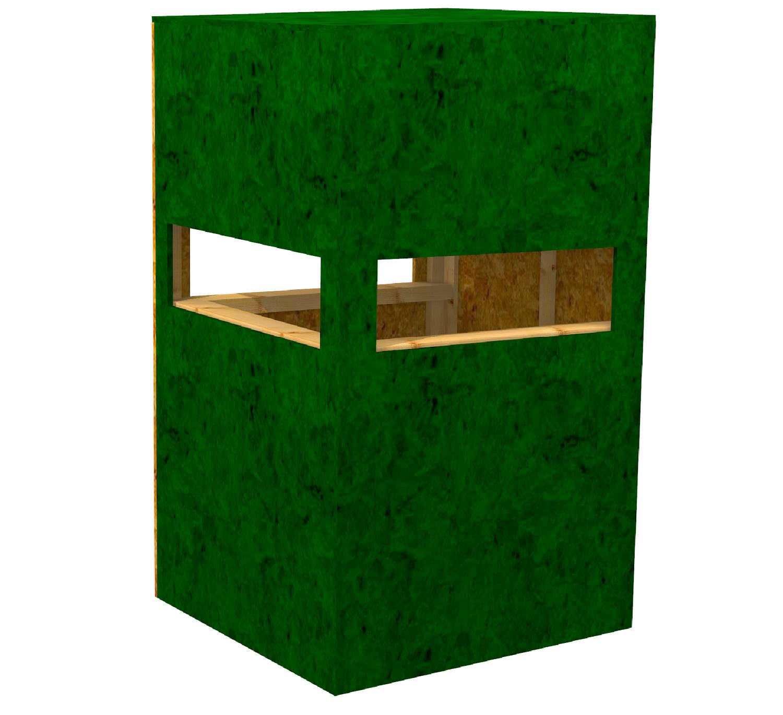 kanzel offen aus osb platten osb plattenst rke 15mm zerlegt als bausatz zerlegt als bausatz. Black Bedroom Furniture Sets. Home Design Ideas